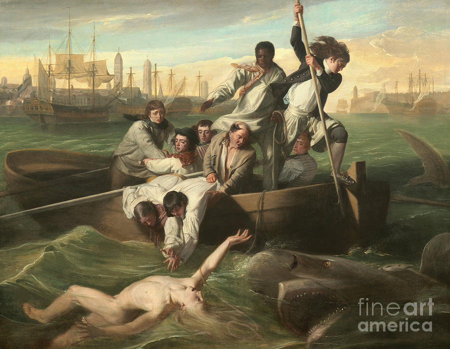 Watson Painting - Watson And The Shark by John Singleton Copley
