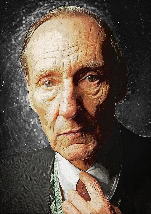 William S. Burroughs Digital Art - William S. Burroughs by Zapista Zapista