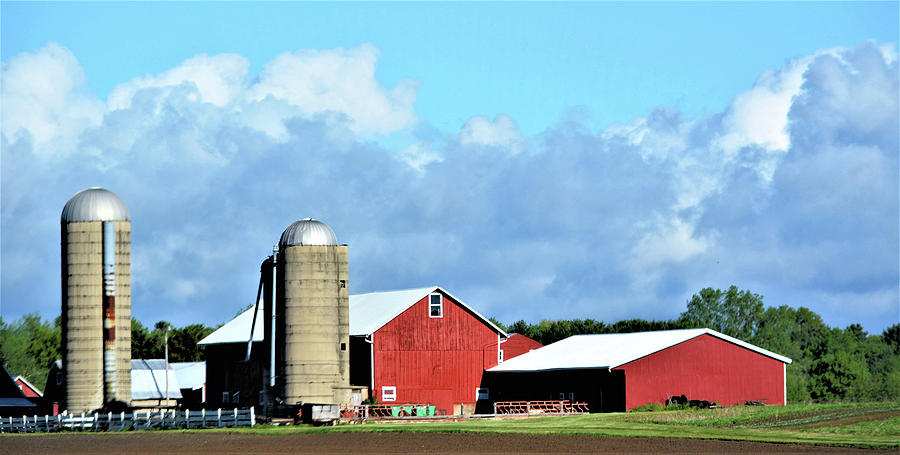 Wisconsin Farm Scene Photograph