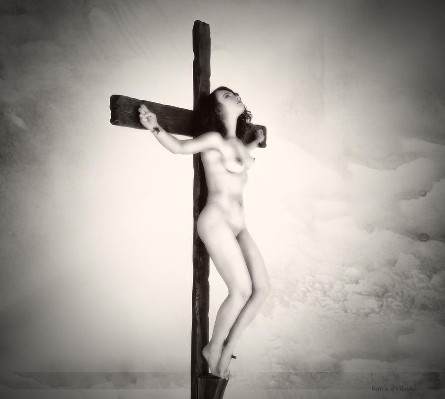 Crucified women nude
