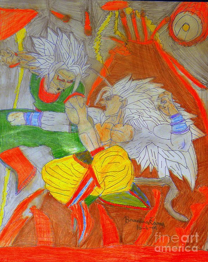 Zaiko Vs Super Saiyan 5 Goku