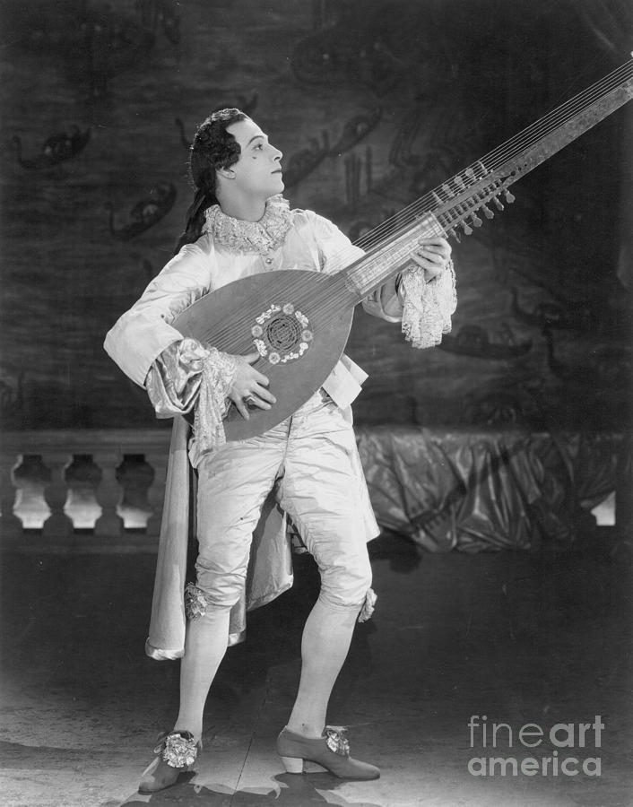 18th Century Photograph - Rudolph Valentino by Granger