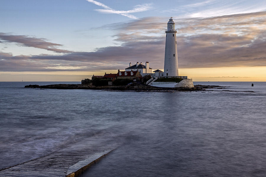 St Marys Lighthouse Photograph
