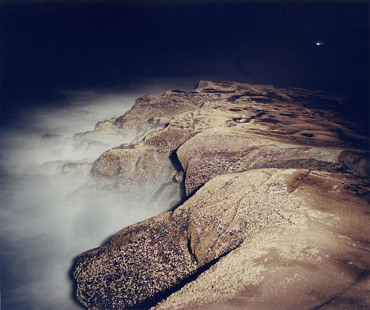 Landscape Photograph - Untitled - Series Night Coast by Markus Redert