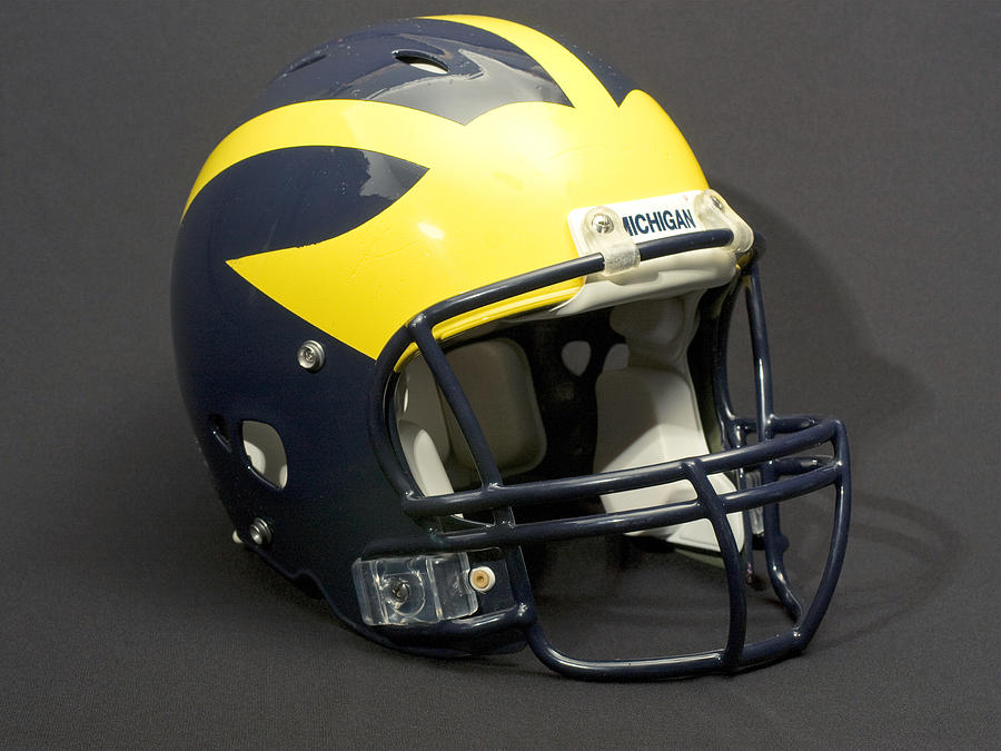 2000s Wolverine Helmet by Michigan Helmet