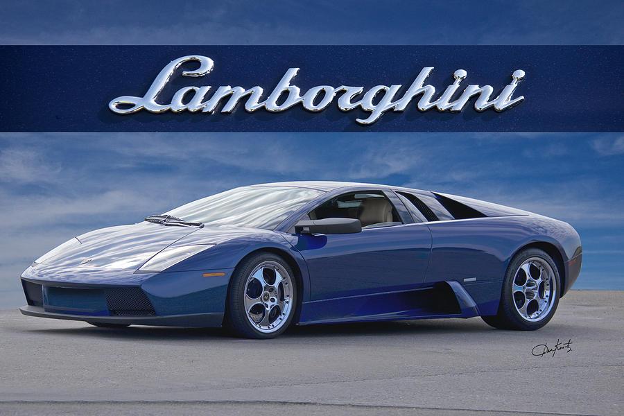 Auto Photograph   2003 Lamborghini Murcielago I By Dave Koontz