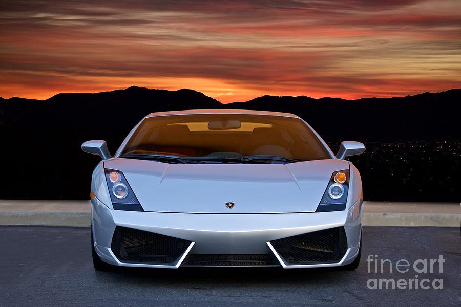 2004 Lamborghini Gallardo Front View Photograph By Dave Koontz