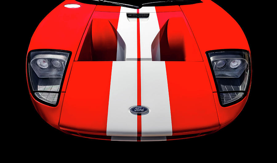 Hot Rod Photograph  Ford Gt Front End Detail Fordgtfrt By Frank J Benz