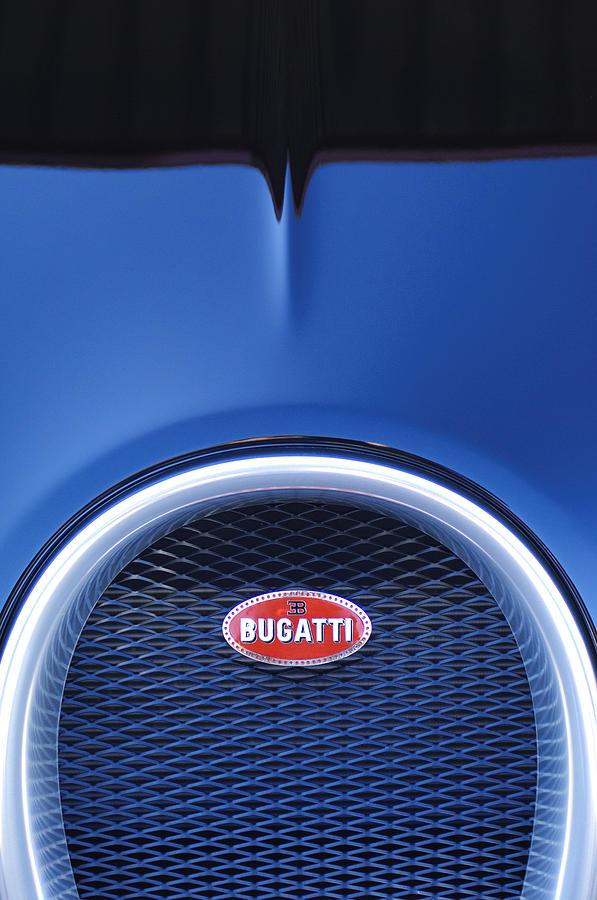 2008 bugatti veyron hood ornament photograph by jill reger. Black Bedroom Furniture Sets. Home Design Ideas