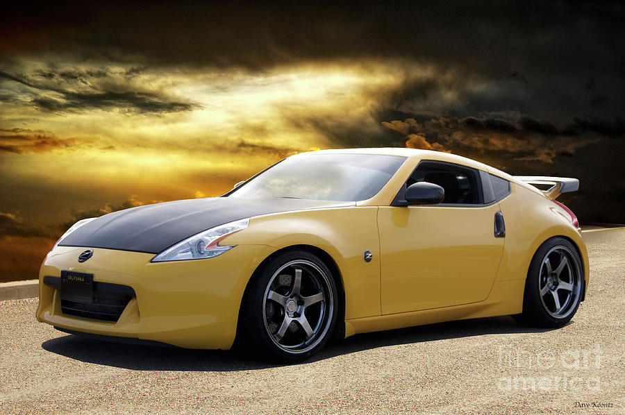 Auto Photograph   2009 Nissan 370z Tuner I By Dave Koontz