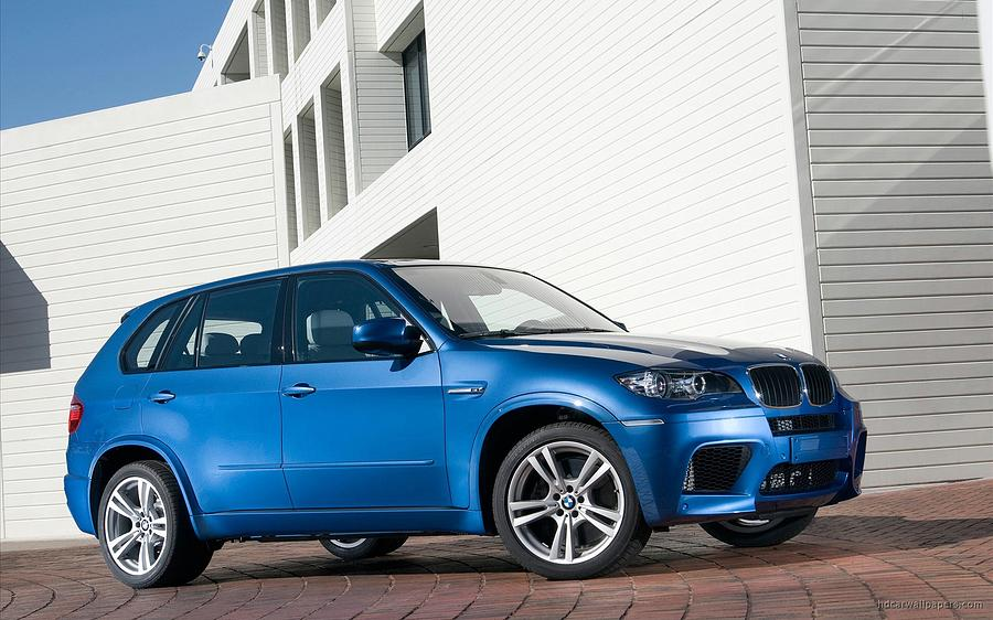 2010 Bmw X5 M Digital Art by Alice Kent