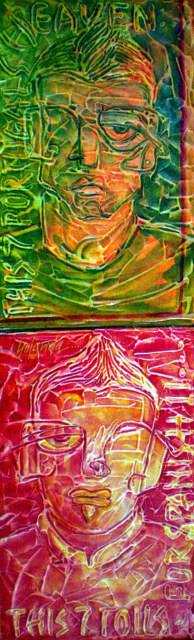 2010 Fabled 7 Painting by Yolanda De Sousa