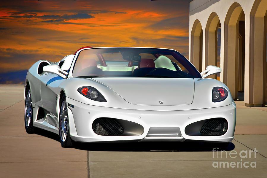 2010 Ferrari F430 Spider Photograph By Dave Koontz