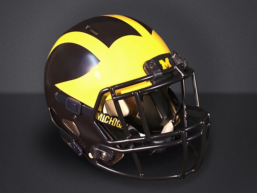 2010s Wolverine Helmet by Michigan Helmet