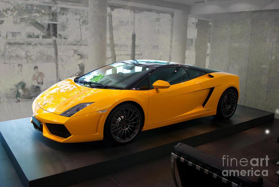 Sports Photograph   2011 Lamborghini Gallardo Lp560 4 Bicolore By Stuart Row