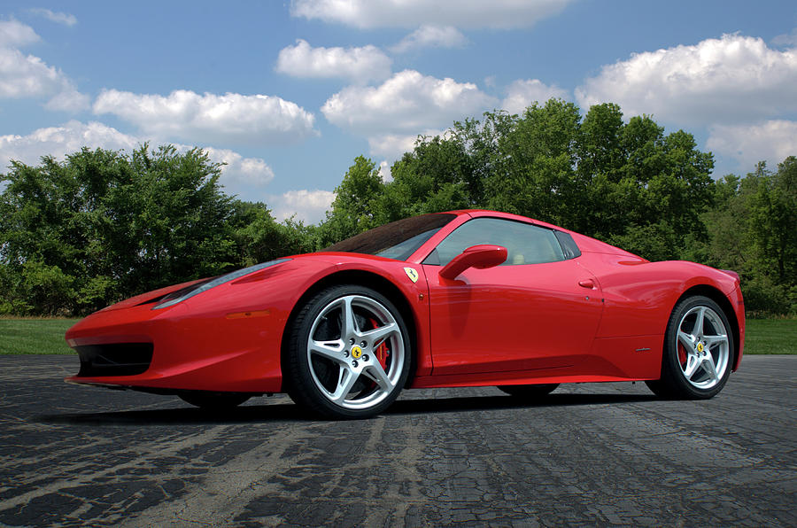 2012 Photograph   2012 Ferrari 458 Spider By Tim McCullough