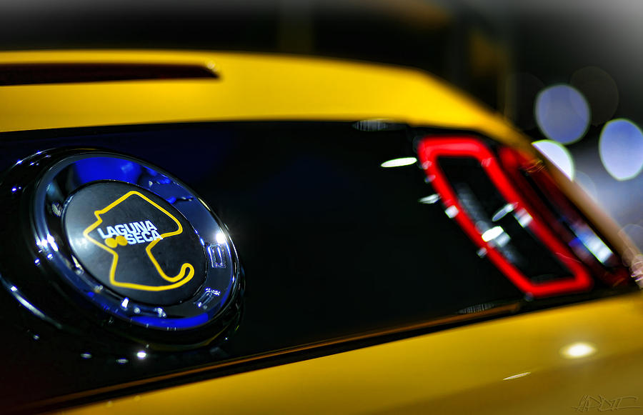 2012 Photograph - 2012 Ford Mustang Boss 302 Laguna Seca by Gordon Dean II