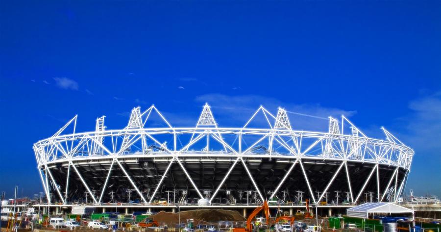 2012 Olympics Photograph - 2012 Olympics London by David French