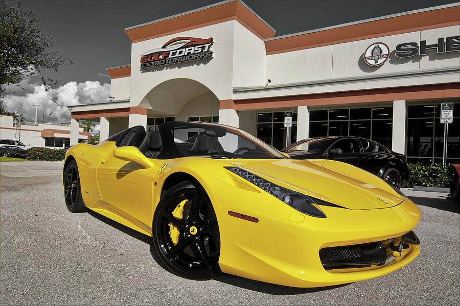 2013 Ferrari 458 Spider Photograph By Don Columbus