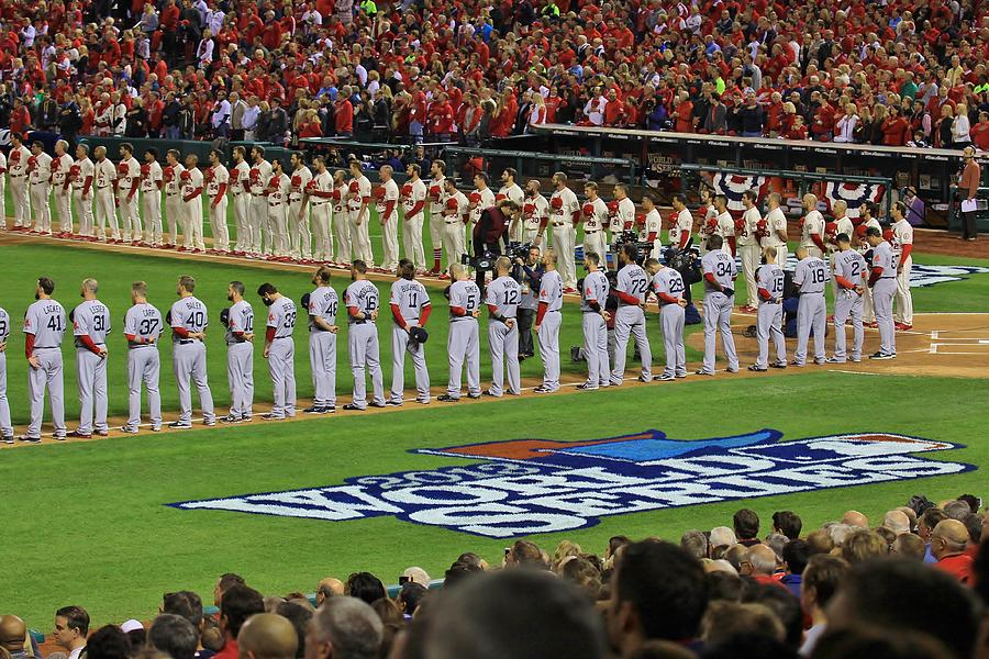 2013 World Series National Anthem by Christopher Miles Carter