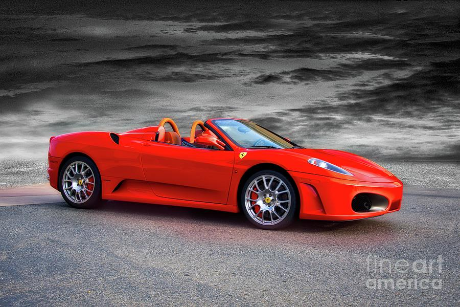 2014 Ferrari F430 Spider Hdr Photograph By Dave Koontz