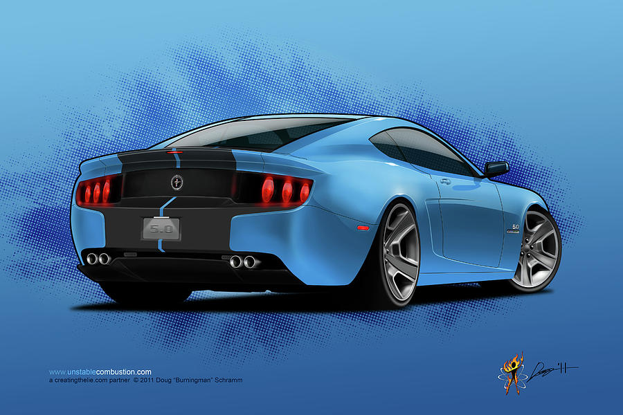 2014 Stang rear by Doug Schramm