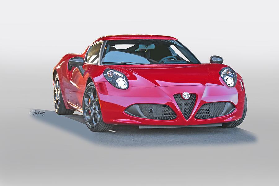 2015 Alfa Romeo C4 Photograph by Dave Koontz