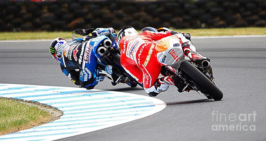 Phillip Island Photograph - 2015 Aussie Moto Grand Prix by Blair Stuart
