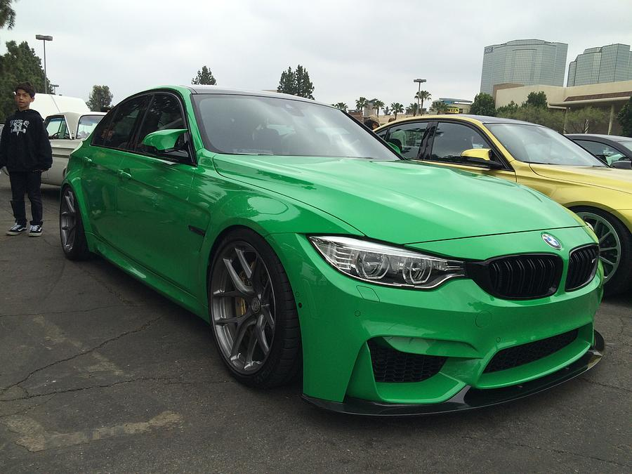 2015 Bmw M3 Individual Color Green 2 Photograph By Mag