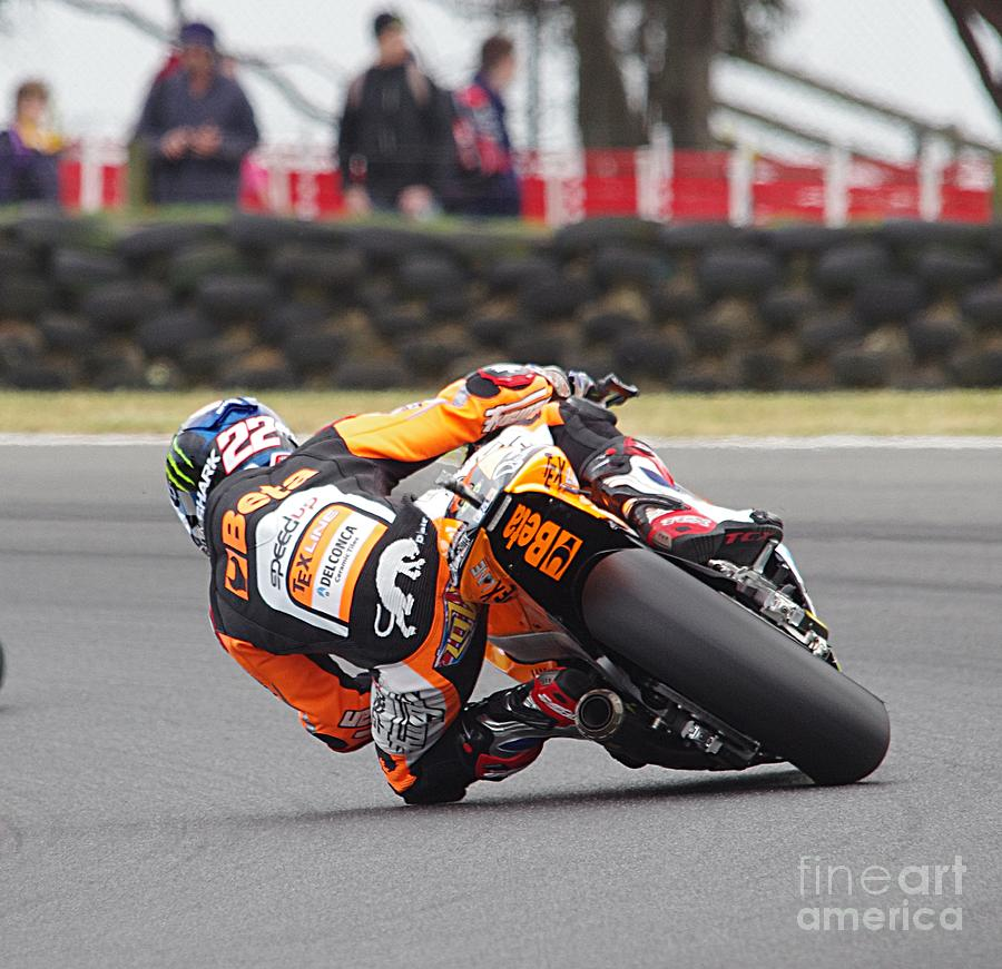 Phillip Island Photograph - 2015 Moto Grand Prix by Blair Stuart