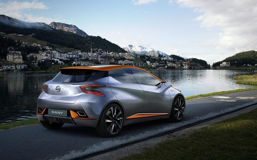 2015 Nissan Sway Concept 3  1 Digital Art by Mery Moon