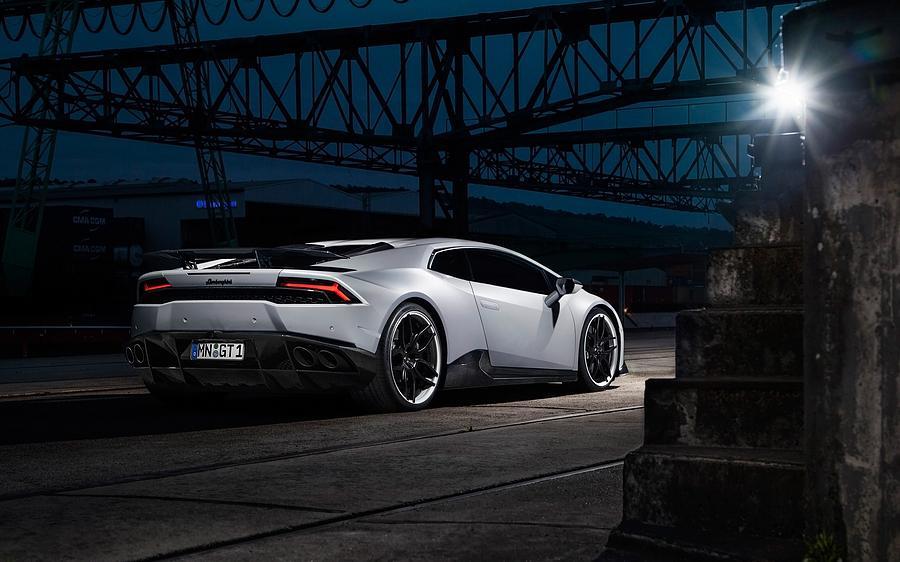 2015 Novitec Torado Lamborghini Huracan 3  1 Digital Art by Mery Moon