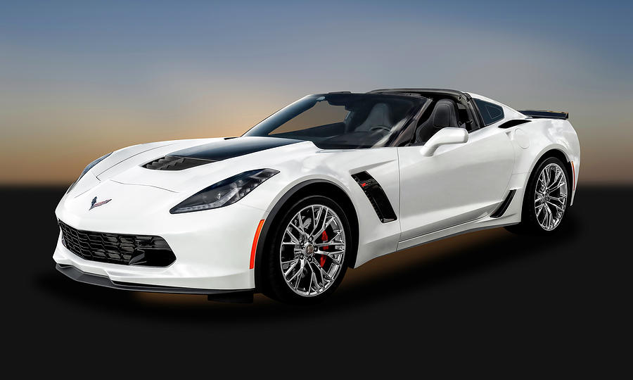 2016 C7 Chevrolet Corvette Zo6 2016z06corvette9262 Photograph By