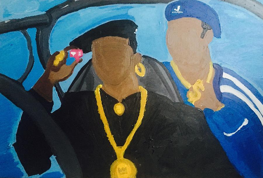 New Jack City Painting - 2017 New Jack City by Kim Bell