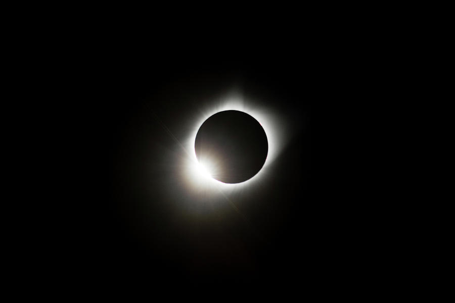 2017 Solar Eclipse Corona Ring by Josh Bryant