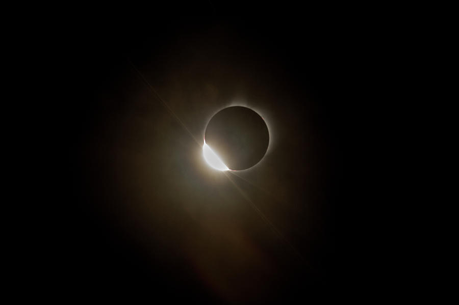2017 Solar Eclipse Entrance Ring by Josh Bryant