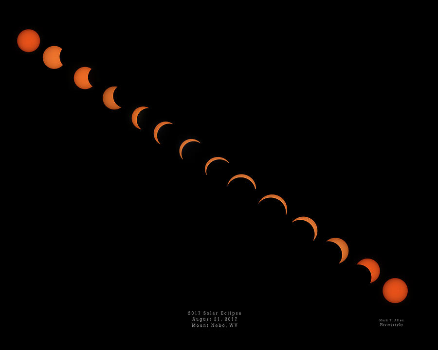 2017 Solar Eclipse by Mark Allen