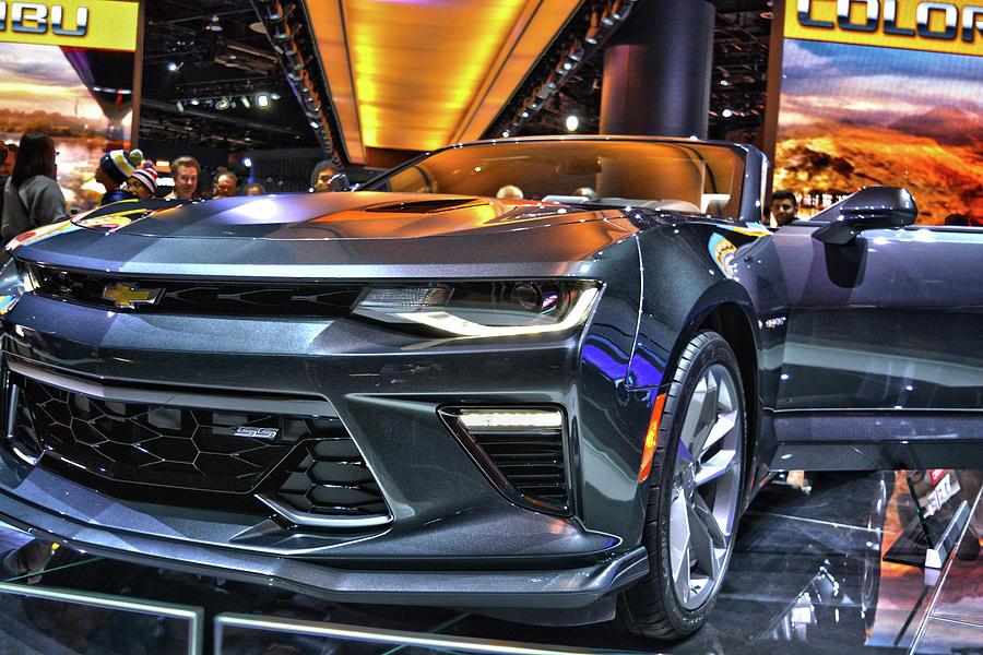 2018 Chevrolet Camaro-4 Photograph by Adam Kushion