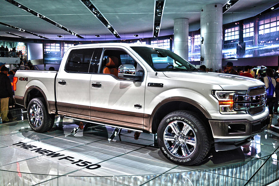 2018 Ford F-150 King Ranch Photograph by Adam Kushion