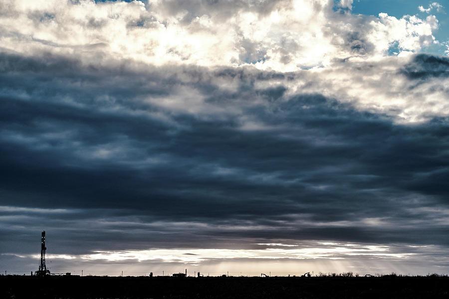 Oil And Gas Photograph - 2018_02_pecos Tx_cactus 153 2 by Brian Farmer