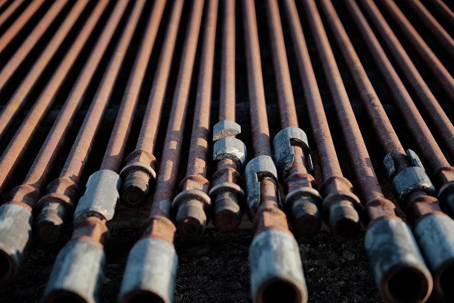 Oil And Gas Photograph - 2018_04_orla Texas_oil And Gas Art Work  by Brian Farmer