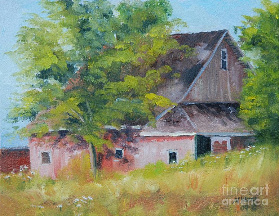 Landscape Painting - 20th Road And 331 by Mike Yazel