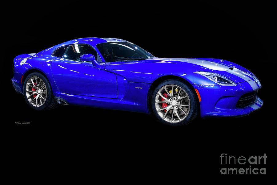 Auto Photograph - 20xx Dodge Viper Sts by Dave Koontz
