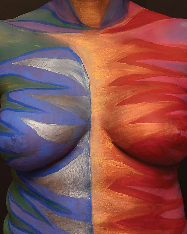 Breast in art