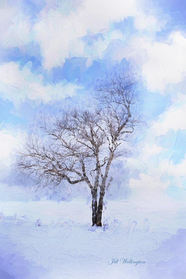 Michigan Winter Digital Art
