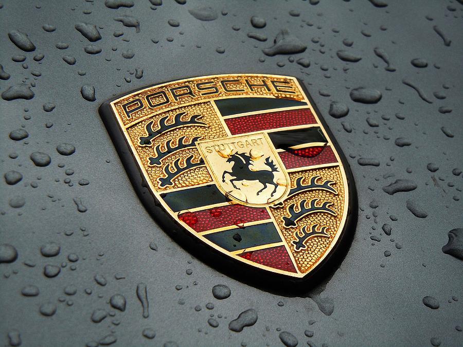 Porsche Logo Digital Art By Max Dedrick