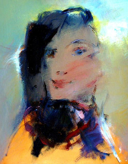 21.untitled Painting by Shefqet Avdush Emini