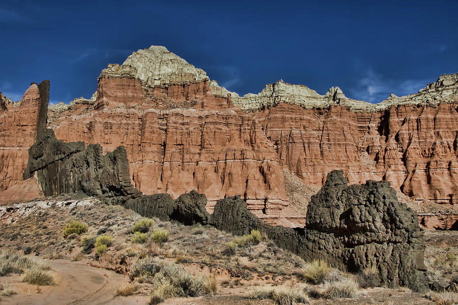Capitol Reef National Park Catherdal Valley by Mark Smith