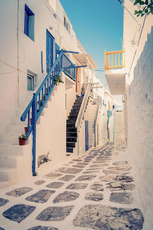 Mykonos Photograph - Mykonos / Greece by Stavros Argyropoulos