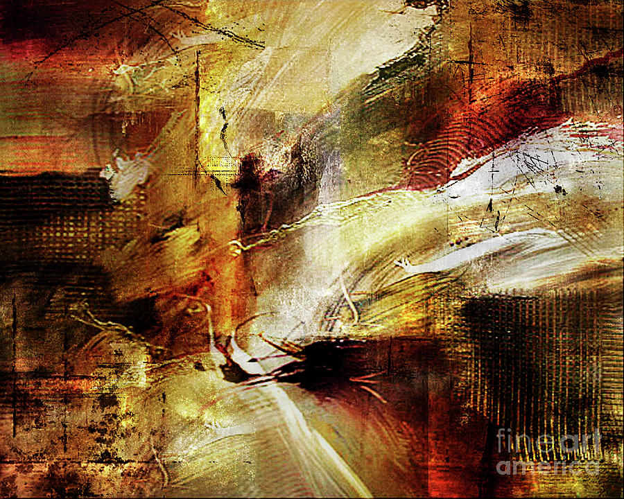 Abstract Painting - Untitled by Angelina Cornidez